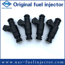 For Bosch Flow Matched Fuel Injector Set for Audi Volkswagen 1 8 2 8 0280156061 4