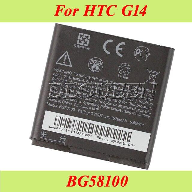 US $5 75 |BG58100 Battery For HTC G14 G17 G18 G21 G22 Radar 4G S610d  Sensation XE Z710e Z710T Z715E Bateria Accumulator 1520mAh -in Mobile Phone