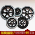 2 PCS 5 inch  / 6 inch / 8 inch wheelchair front wheels wheel chair Caster Small wheel for wheelchair