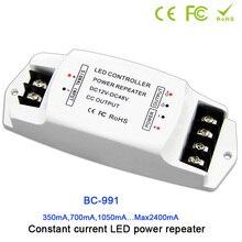 BC-991 1CH CC led light power repeater;DC12-48V input; 350mA/CH*1 or 700mA/CH*1 1050mA/CH*1 2400mA/CH*1 output