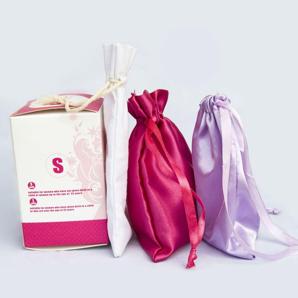 Feminine Hygiene Products Menstrual Cup Top Grade Silicone Copa Menstrual Copa Lady Women Use Menstruation Cup 24