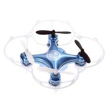 Floureon F10 UFO Mini RC Drone 2.4 GHz 4CH 6-axis-gyro RC Quadcopter Une Presse Retour Poche Hélicoptère Télécommande Dron jouets