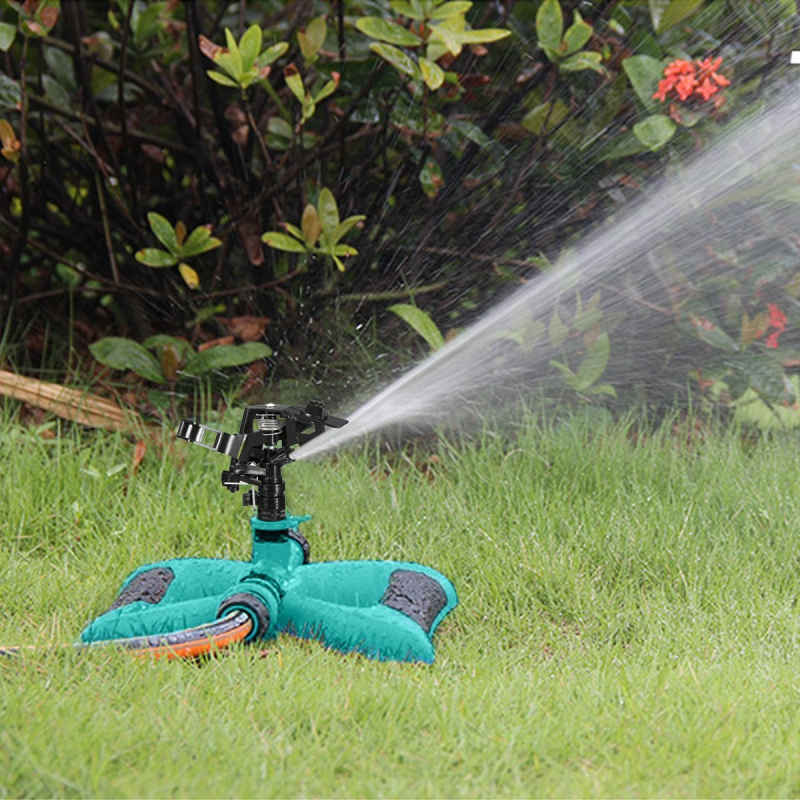 360 Degree Automatic Rotating Spray Sprinkler  Garden Water Sprinkler   Lawn / Garden Watering / Lawn Maintenance / Roof Cooling