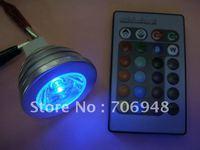 3 Wát E27 Điều Khiển Từ Xa LED Light Bulb 16 Color Thay Đổi 12 V mr16 cơ s