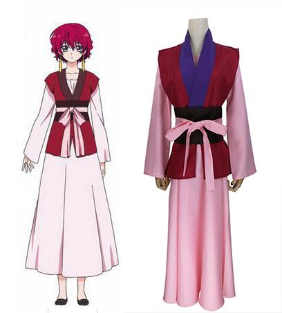 Akatsuki no Yona костюм для косплея аниме Yona of the Dawn Ayuna платье принцессы Униформа полный комплект