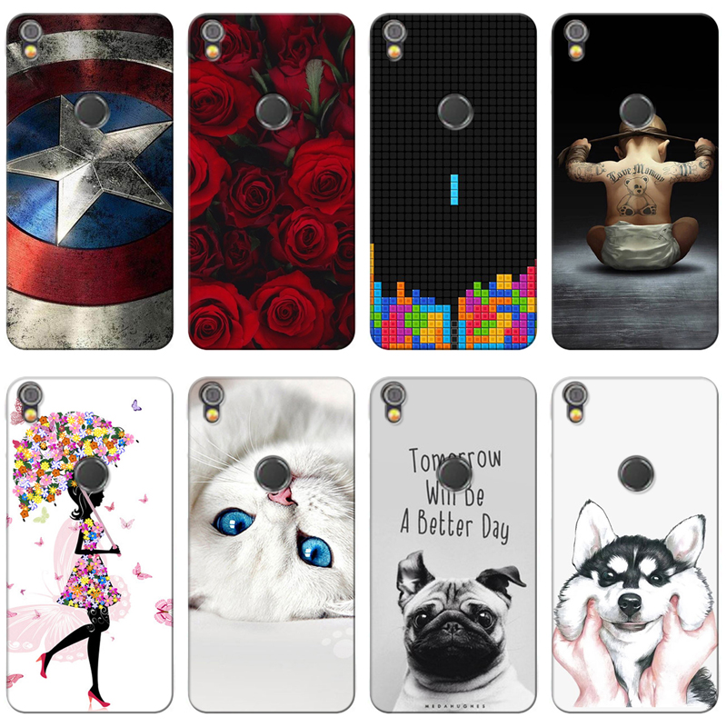 Fitted Cases Phone Bags & Cases Reasonable Good Quality Colorful Cases For Alcatel Shine Lite Ot 5080 Printing Phone Girls Cover Silicone Soft Case