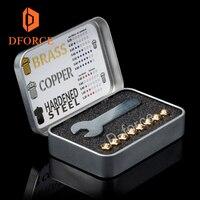Boquillas de alta calidad E3D V6 DFORCE  para impresoras 3D  boquillas de impresora 3D de tamaño completo  boquillas dforce E3D