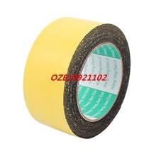 1PCS 50mm x 1mm Single Sided Self Adhesive Shockproof Sponge Foam Tape 5M Length