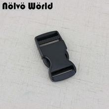 10-30 sztuk ciemny czarny 25mm 1 Cal klamry boczne do pasy regulowana tanie tanio nolvo world Ze stopu cynku Klamra Chiny (kontynentalne)