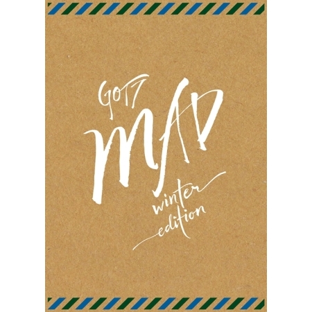GOT7 MINI ALBUM REPACKAGE - MAD WINTER EDITION (MERRY VER.)  Release Date 2015-11-24 exo 4th album repackage the war the power of music chinese ver korean ver 2 version set release date 2017 09 06