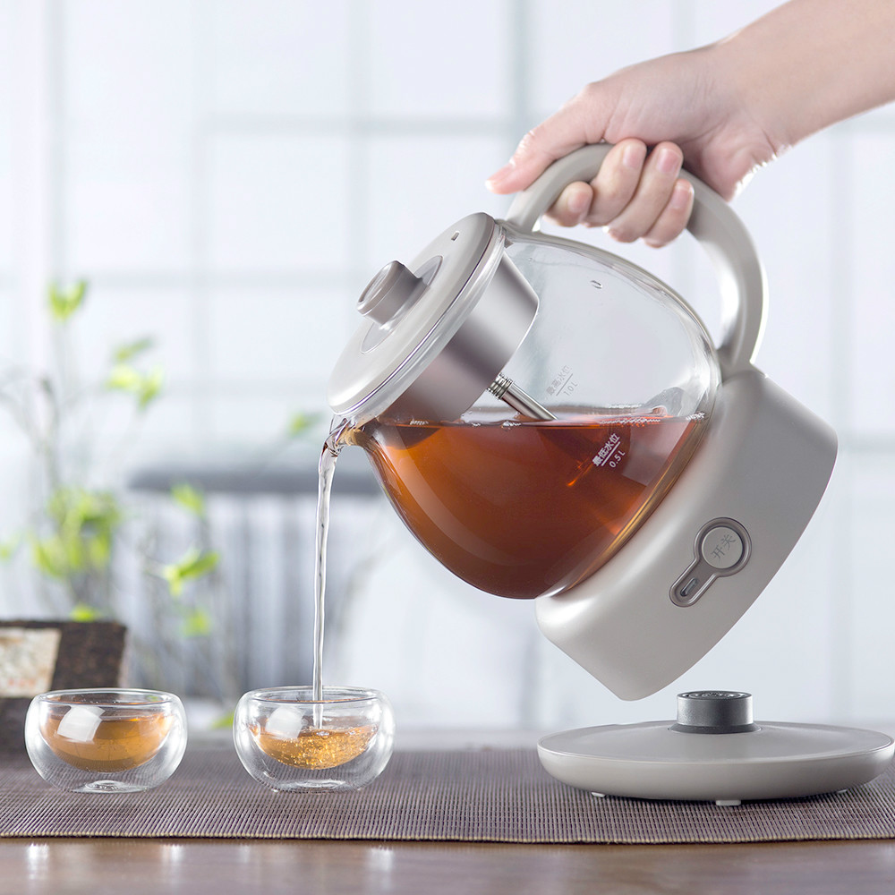 Tea kettle automatic steam black tea pu 'er electric health pot glass mini office NEW new arrived 357g chinese pu erh puer tea health original puerh tea page 2 page 3