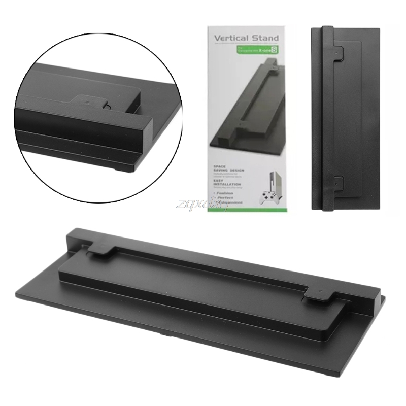 Black and White For XBOX ONE Slim Xbox One S Stand Game Console Vertical Stand Base Holder Z09 Drop ship стоимость