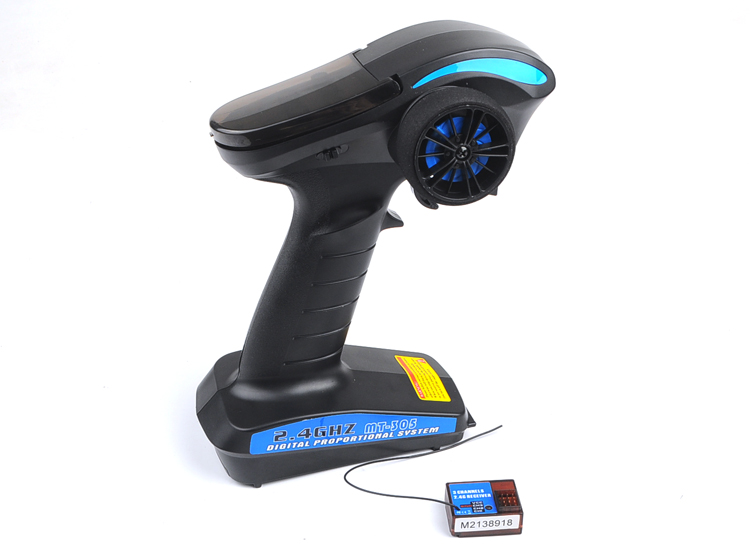 MT-305 2.4GHz 3-Channel 3CH DigitaSurface Radio 2.4G 3CH AFHS Radio Remote Control RC Transmitter with Receiver for RC Car Boat graupner mz 12 radio controller rc transmitter 2 4ghz 6 ch remote control system with gr 18 receiver for rc airplane helicopter