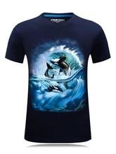 2019 New 3D printing Eagle pattern T-shirt men's black 3d t shirt Hip Hop Short Sleeve Casual tops&tees Plus Size Fashion shirts