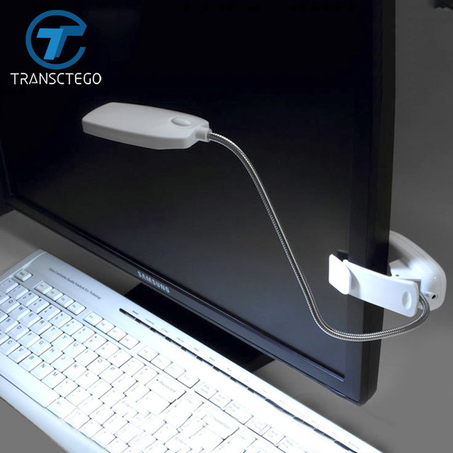 Led Clip Lamp Mini Bedside Lamp Simple Aaa*3pcs Battery Clamp Student Desk  Light Book