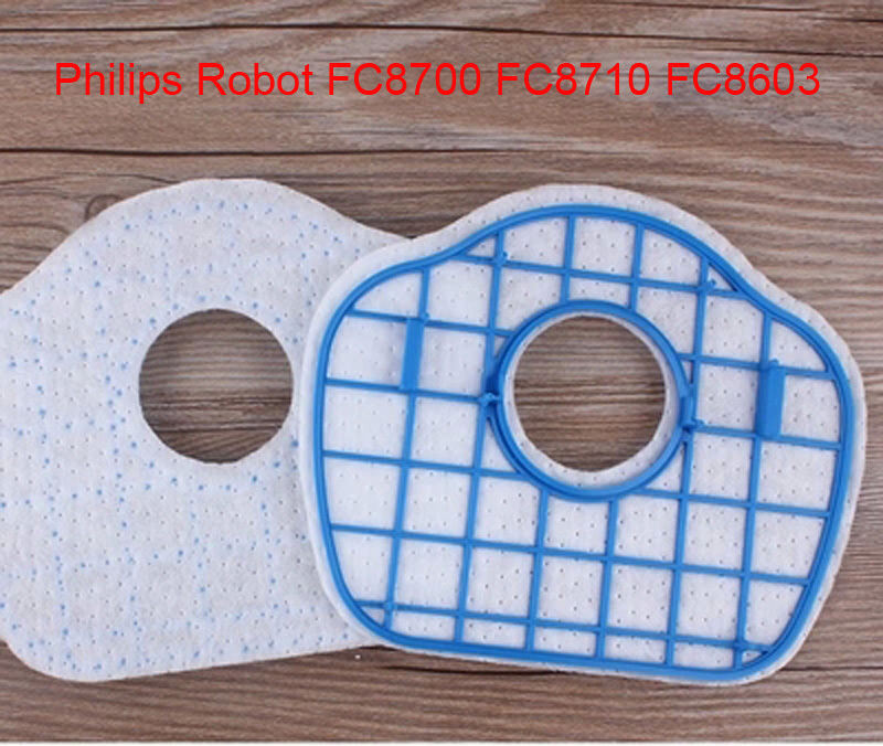 Vacuum Cleaner HEPA Filter Replacement for Philip Robot FC8700 FC8710 FC8603 vacuum cleaner hepa filter gy308 gy309 gy406 gy 408 129x148mm