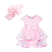 Newborn Baby Girl Romper Dress