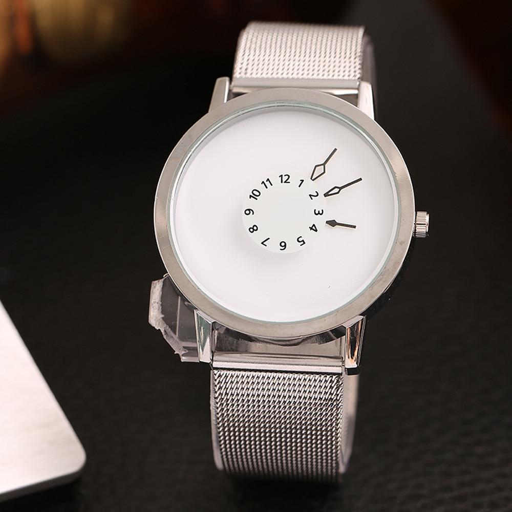 2019 Womens Watch Quartz Watches Women's Luxury Fashion Women Casual Checkers Milanese Quartz Analog Wrist Watch#30