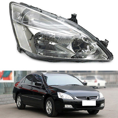 Right&Left Composite Headlight Lamp Assembly Set OE For Honda Accord 2003-2007 right combination headlight assembly for lifan s4121200