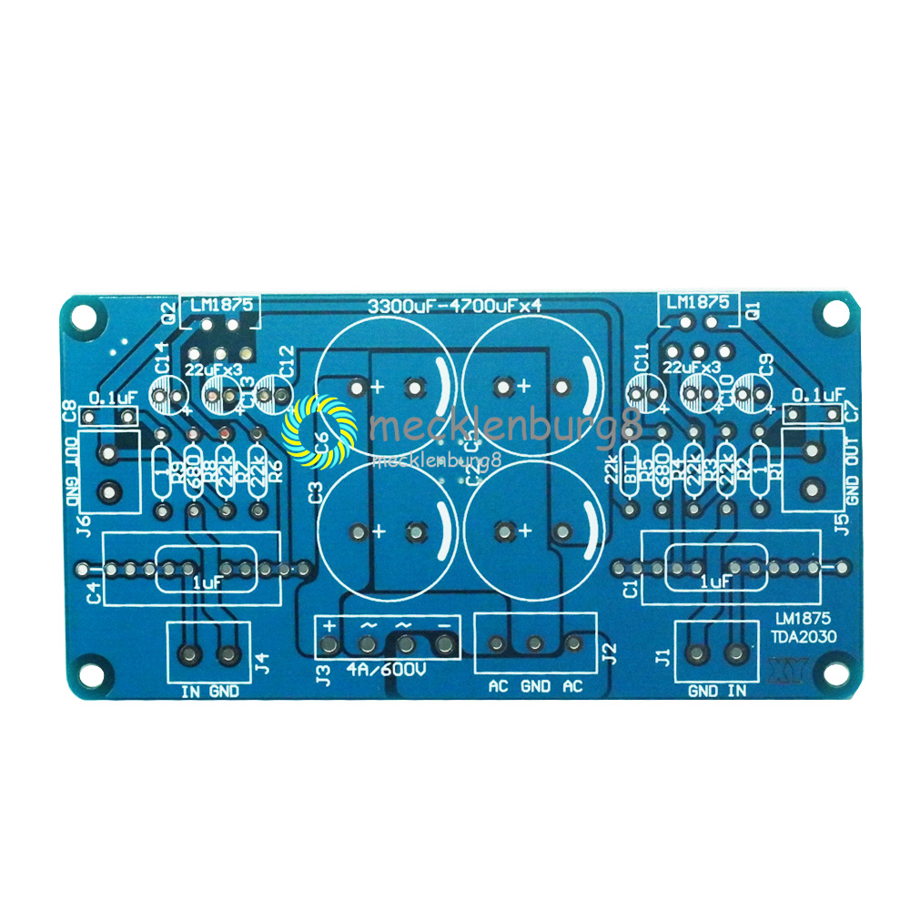 LM675 LM1875T TDA2030 TDA2030A Audio Printed Circuit Board Power Amplifier Do-it-yourself Board