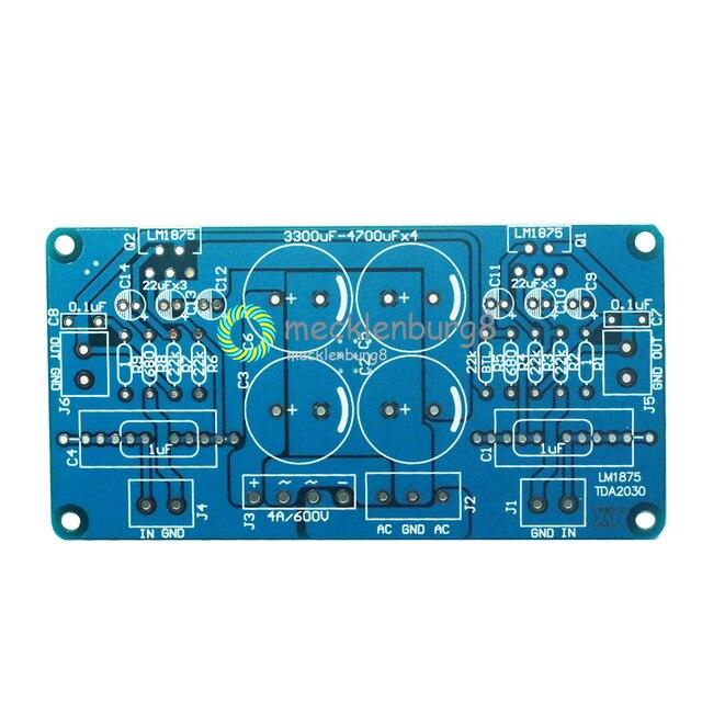 LM675 LM1875T TDA2030 TDA2030A âm thanh mạch in Bộ khuếch đại công suất do-IT-yourself ban