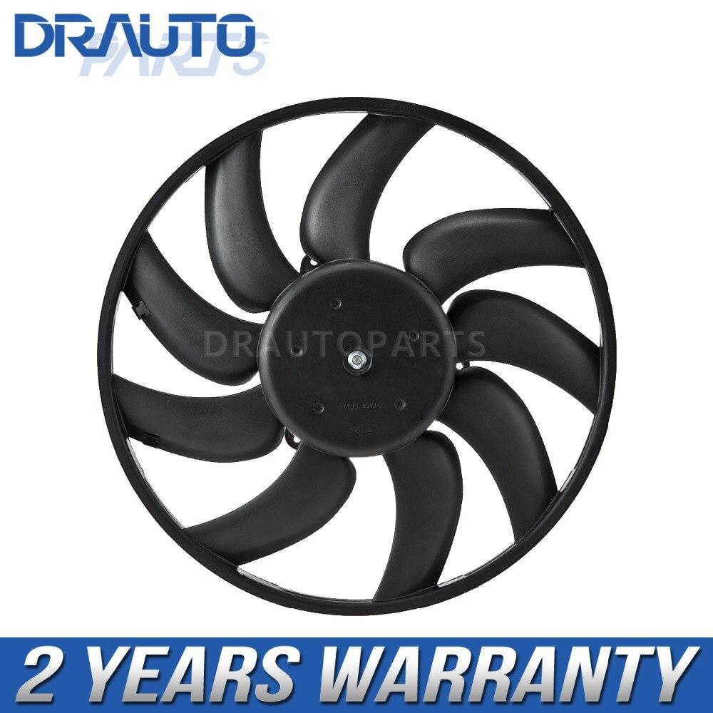 Moteur de ventilateur de refroidissement de radiateur auxiliaire droit 8K0959455M pour A4 A5 AllRoad Q5 S4