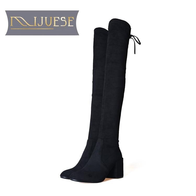 RAZAMAZA Women Simple Boots Zipper