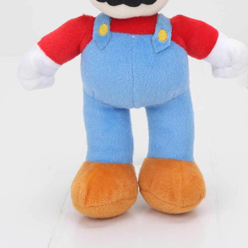 Классические игровые персонажи Супер Марио Bros плюшевые куклы 6-25 см Супер Марио и Луиджи Йоши мастер Mario Мягкие плюшевые игрушки куклы