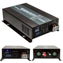Inversor de Onda Sinusoidal pura 2000 W 12 V/24 V DC a 120 V/220 V/240 V AC Coche/Inversor de la Energía Solar fuente de Alimentación Para El Refrigerador de Televisión