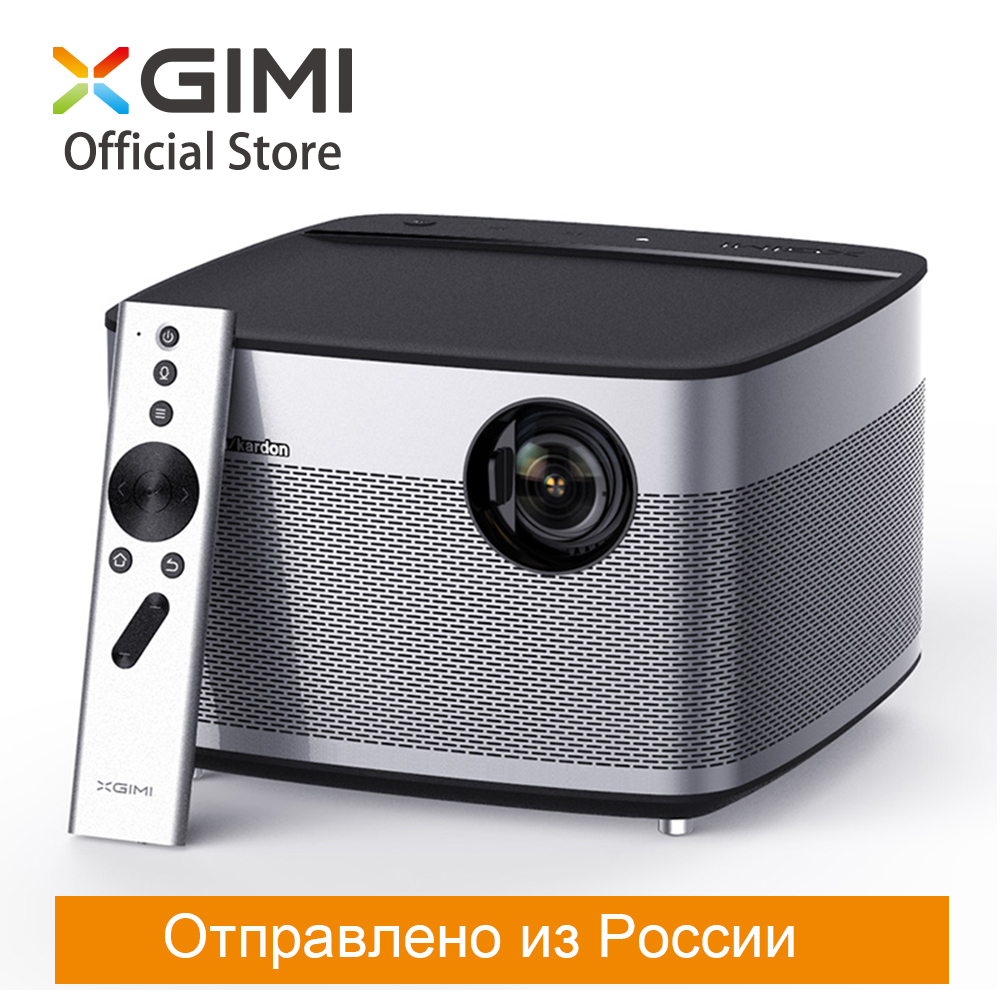 XGIMI H1 смарт-проектор DLP 900 ANSI люмен 3 ГБ 16 ГБ 1080 P светодио дный 300 Android Wi-Fi Bluetooth ТВ Screenless дома Театр 2 К/4 К