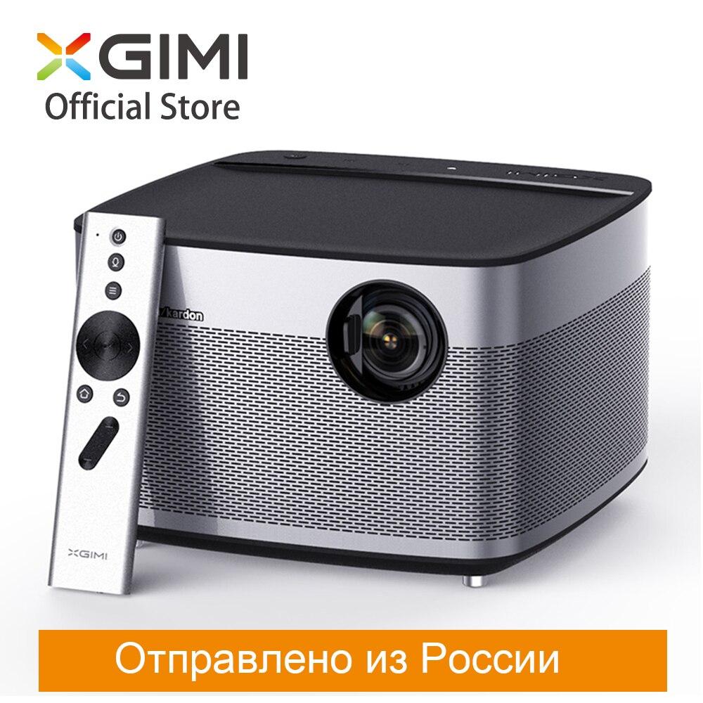 XGIMI H1 Smart Проектор DLP 900 ANSI люмен 3 GB 16 GB 1080 p светодиодный 300 Android WIFI Bluetooth ТВ Screenless дома Театр 2 K/4 K