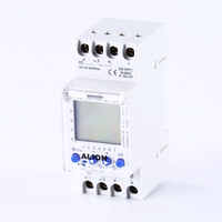 2 Channel 220V 240V AC Programmable Digital Time Switch Time Relay Din Rail 7 Days Weekly