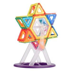Image 5 - VINEDI grande taille blocs magnétiques magnétique concepteur constructeur ensemble modèle et construction jouet aimants jouets éducatifs pour les enfants