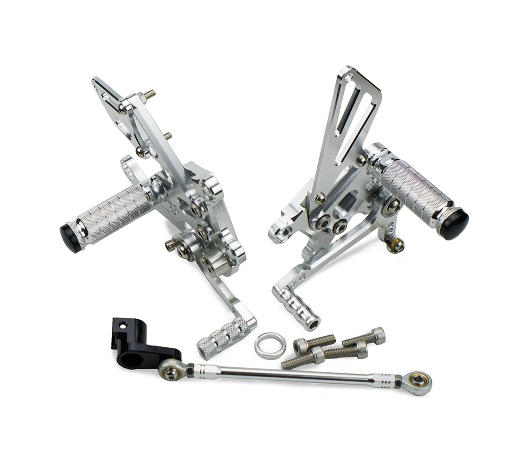 CNC Adjustable Rear Sets Footpeg Foot pegs Footrest For