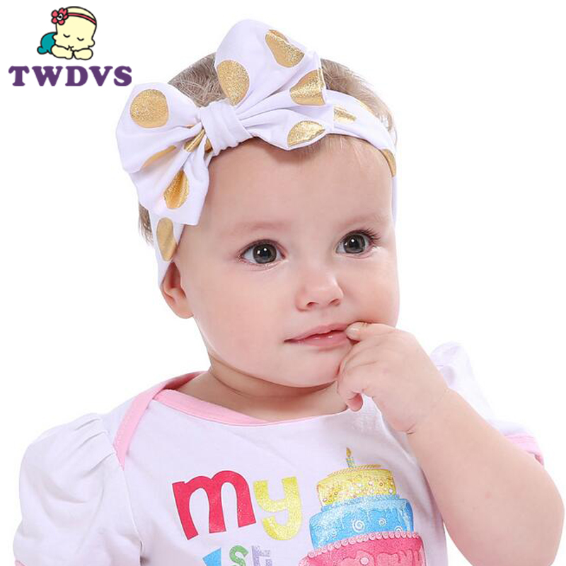 1PC Newborn Girls Cold Press Knot Elasticity Of the Headband Children Of Cotton Girls Hair Accessories
