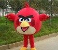 2016  red bird Mascot costume   bird  Mascot   Free shipping