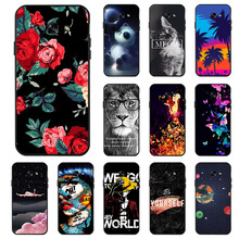 Ojeleye Fashion Black Silicon Case For Samsung Galaxy A5 2017 Cases Anti-knock Phone Cover A520F Covers