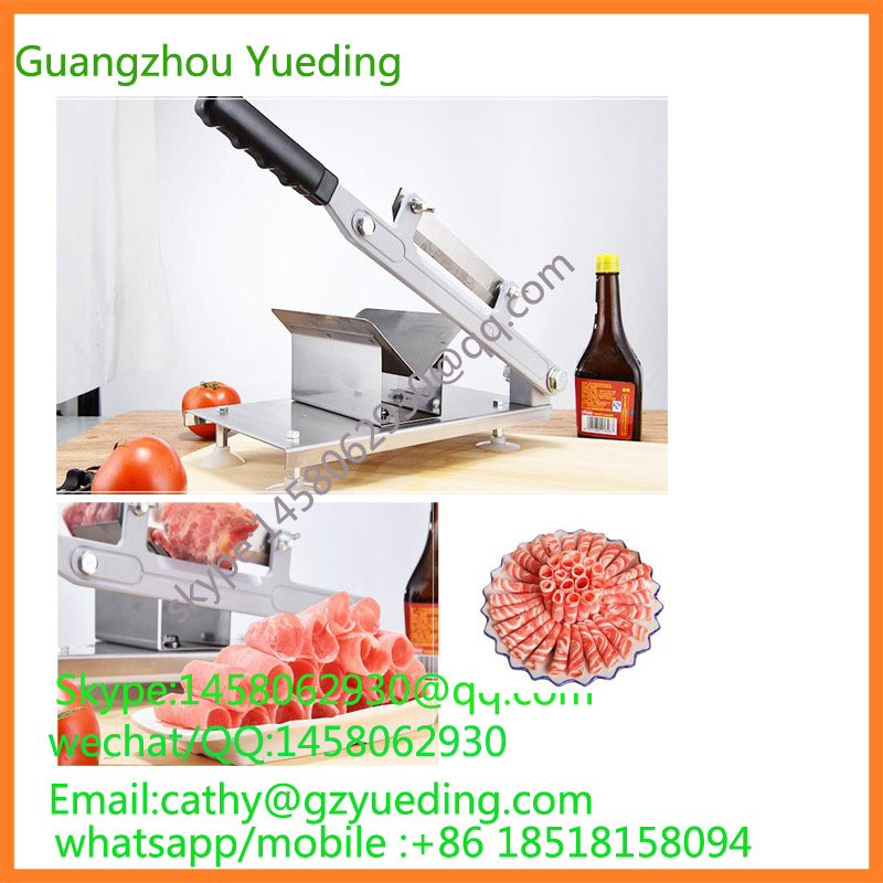 Manual Mutton Roll Machine|Frozen Meat Slicer Professional frozen meat slicer machine /manual beef meat slicing machine