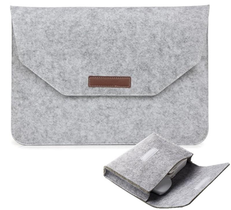 ULIFART шерсть фетр ноутбук чехол Крышка для планшета сумка для MacBook Air Pro 11 дюймов Ipad 2018 9,7 10,5