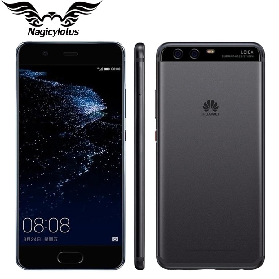 bilder für Original Huawei P10 4G LTE 4 GB RAM 64/128 GB ROM 5,1 zoll 1920x1080 Kirin 960 Octa-core Dual Rückfahrkamera 20MP Fingerabdruck NFC OTG