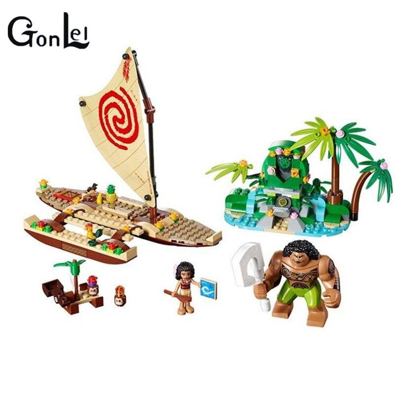 Educational Building Blocks Toy For Children Gift Castle Girls Friends Princess Mermaid Beauty Beast Elsa Anna Legoingly Moana