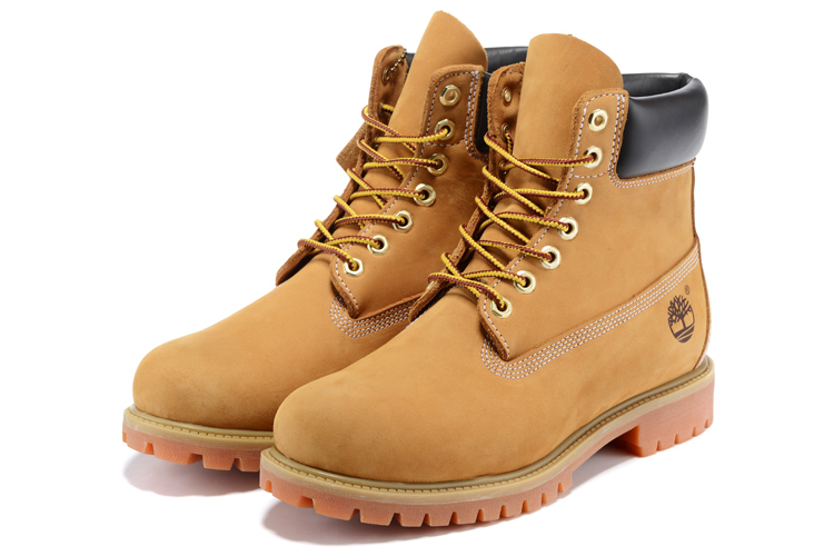 TIMBERLAND Classic Women's 6-Inch Premium Waterproof 10061 Boots,Woman Female Nubuck Genuine Leather Ankle Wheat Yellow Shoes  2