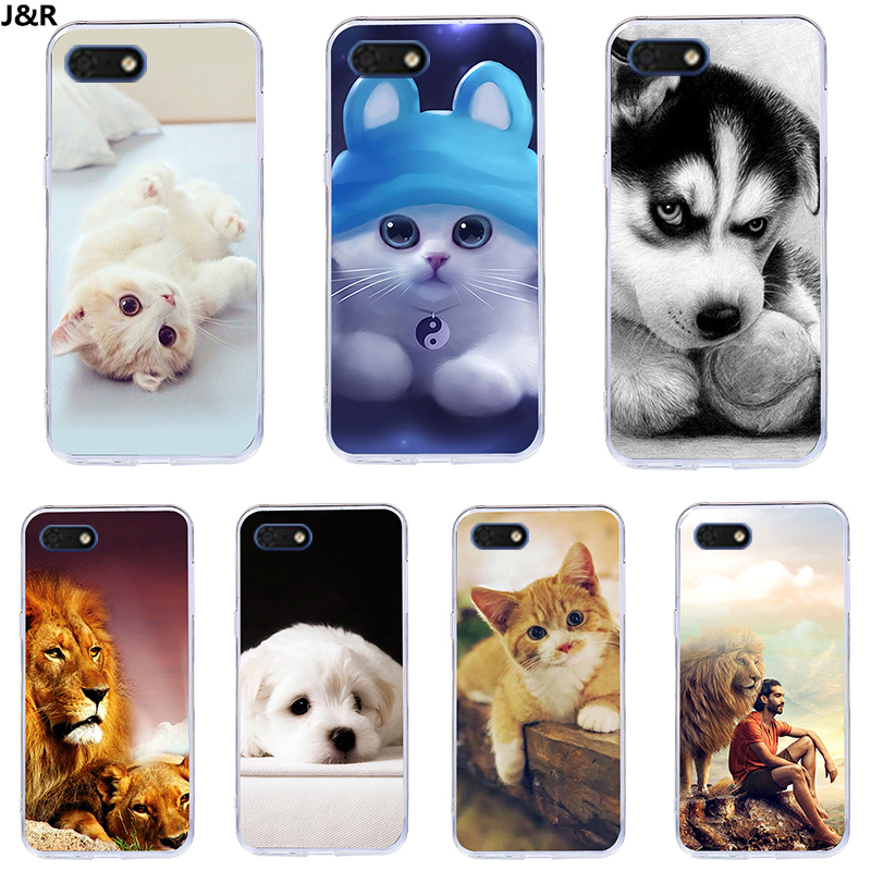 J&R Cover For <font><b>Huawei</b></font> <font><b>Y5</b></font> Lite <font><b>2018</b></font> <font><b>Silicone</b></font> TPU Soft Phone <font><b>Case</b></font> For <font><b>Huawei</b></font> <font><b>Y5</b></font> Lite <font><b>2018</b></font> DRA-LX5 Y5Lite Y 5 Prime <font><b>2018</b></font> <font><b>Cases</b></font> 5.45