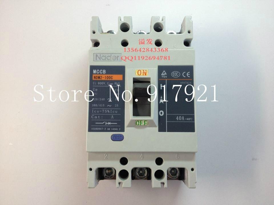 [ZOB] la lettre NDM2-100C/3300 3P40A disjoncteur moulé interrupteur d'air