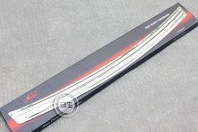 High quality stainless steel Rear bumper Protector Sill for 2010 2011 Hyundai Santa Fe