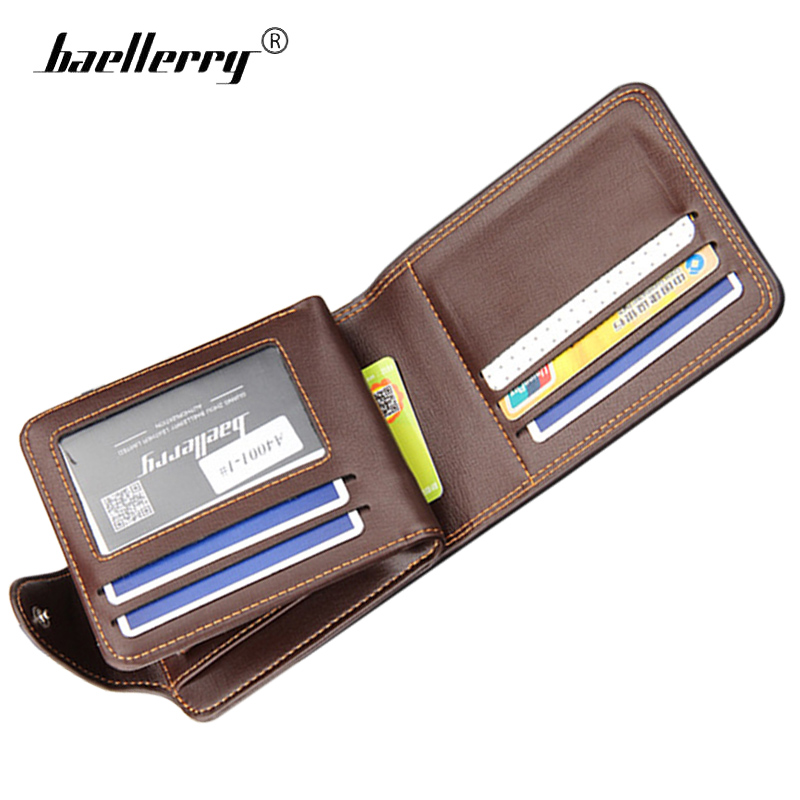 Latest Collection Of Baellerry 2018 New Men Wallets Man Famous Small Short Wallet Portomonee Coins Zipper Mini Male Purses Cards Holder Wallet Clutch Men's Bags