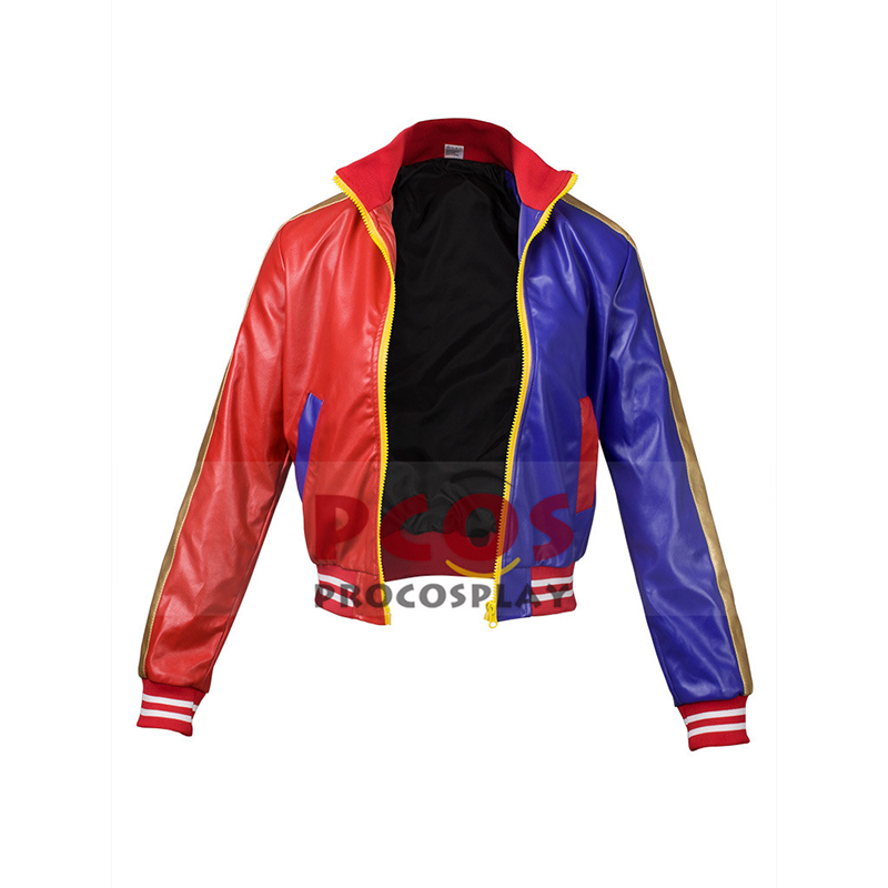 US STOCK&READY SHIP~ Sale Price!! Suicide Squad Harley Quinn Cosplay Jacket / Coat mp003501
