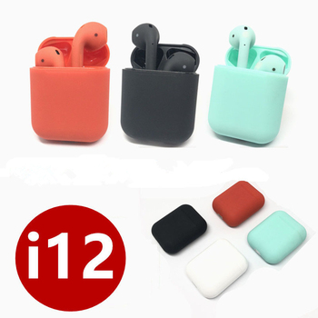 New i12 Twins Mini Bluetooth earphone  Wireless Headphones stereo headset Earbuds 1:1 air pods for iPhone Samsung xiaomi huawei