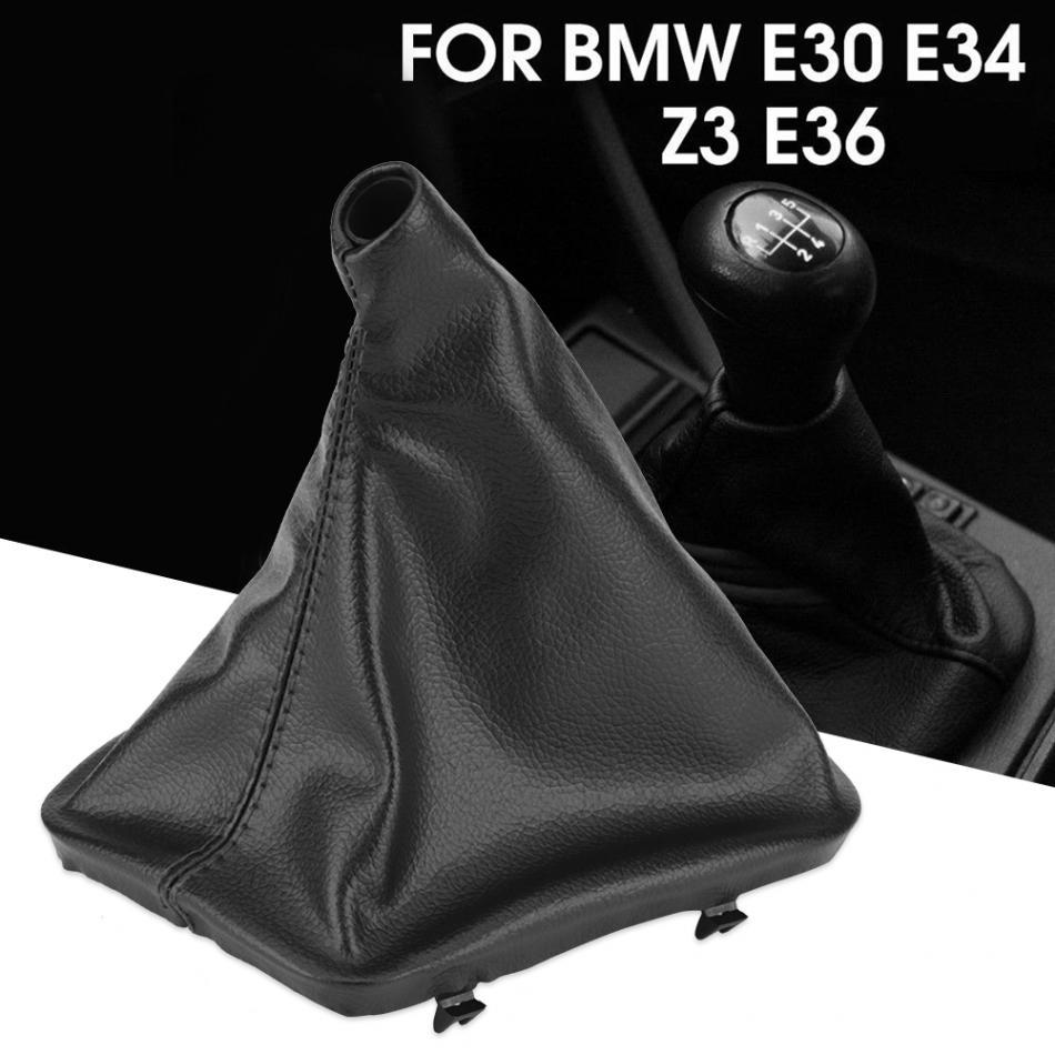 FITS BMW E30 E36 E34  E46 Z3 BLACK  E BRAKE LEATHER   M3 III
