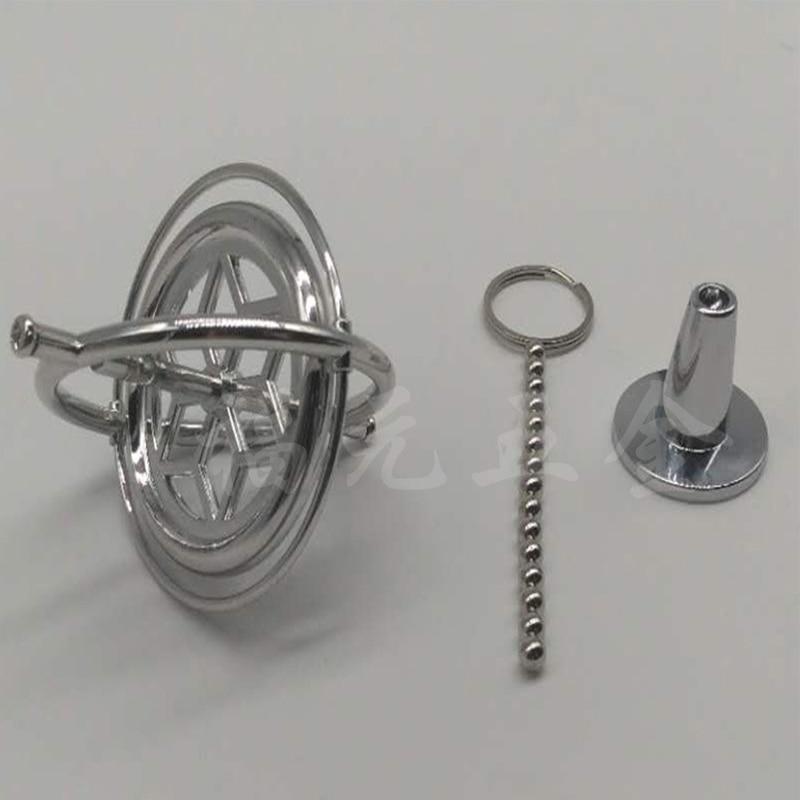 Metal Machinery Gyroscope Anti-gravity Tumbler Gyro Copper Spinner Fingertip Finger Gyro Spiral Desktop Anti Stress Toy